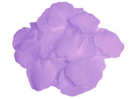 (EMAXELER [Broken Girls Flowers]1000pcs Light Purple Silk Rose Flower Petals for Wedding Table Confetti Bridal Party Flower Girl Decoration 1000pcs Light Purple)