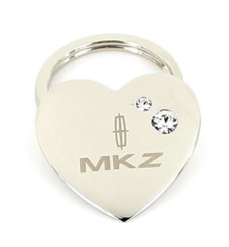 Amazon.com: Lincoln MKZ forma de corazón llavero w/2 ...