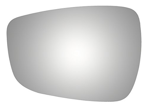 Burco 4432 Flat Driver Side Replacement Mirror Glass (Mount Not Included) for 2011-2015 Hyundai Elantra, 2011-2017 Hyundai Accent, 2012-2013 Hyundai Veloster