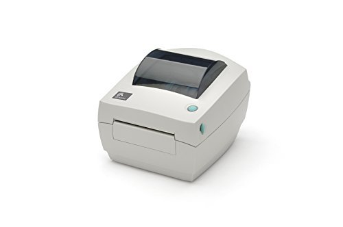 ZEBRA- GC420d Direct Thermal Desktop Printer for Labels, Receipts, Barcodes, Tags, and Wrist Bands - Print Width of 4 in - USB, Serial, and Parallel Port Connectivity