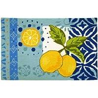 Jellybean Lemons Memory Foam Rug