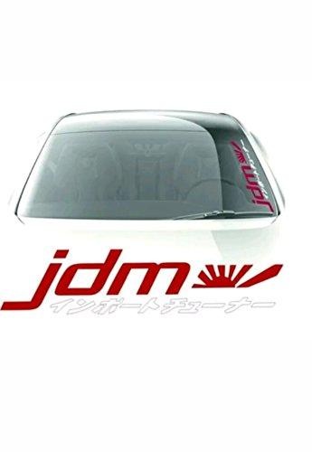 Amazon Com Jdm Kanji Windshield Side Decals Window Banners Cars