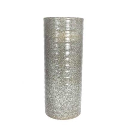 """Japanese Vase 11/""""D SUIBAN Ikebana Bonsai White Ceramic Round Shape//Made in Japan"""
