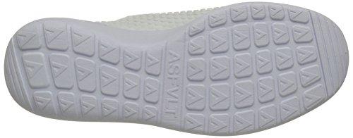 Asfvlt Speed, Basse Unisex - Adulto Blanc (White Dots)