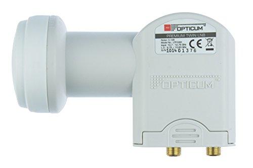 Opticum Twin LNB - LTP-04H - vergoldete Kontakte (Full HD, 3D)