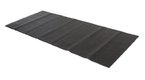 Stamina Fold-to-Fit Folding Equipment Mat (84-Inch by 36-Inch) (Mat Rubber Bike)
