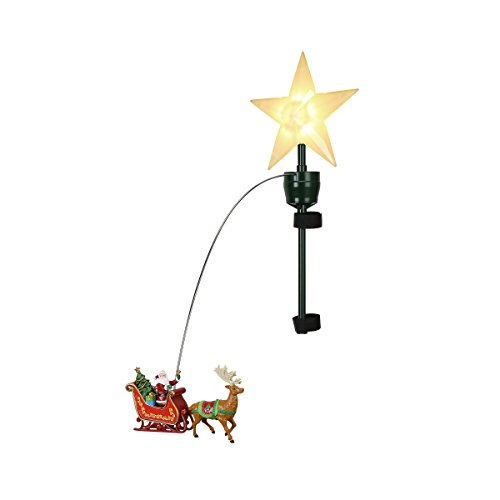 "Mr. Christmas 49301 21"" Animated Lit Tree Topper"