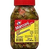 Marconi Giardiniera Hot, 32 oz