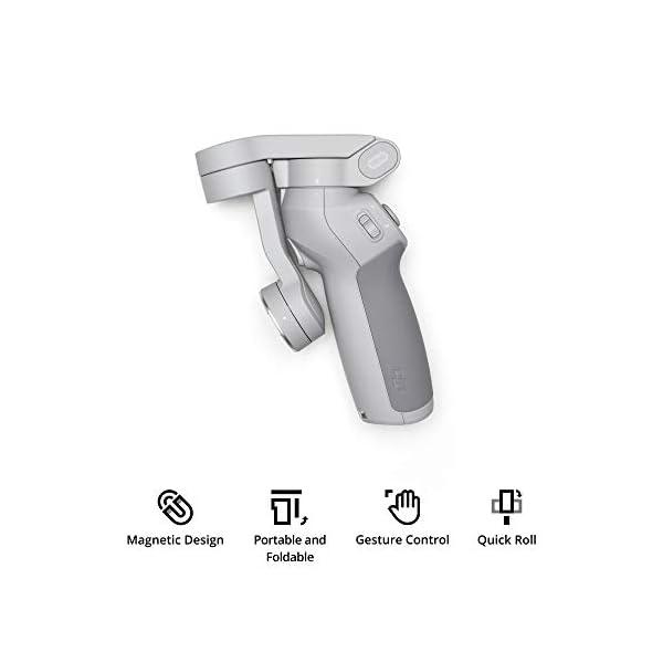 RetinaPix DJI OM 4 - Handheld 3-Axis Smartphone Gimbal Stabilizer