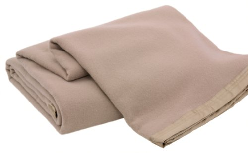 Creswick Luxurious All-Natural 100-Percent Australian Merino Wool Oversized Blanket, King Size, ()