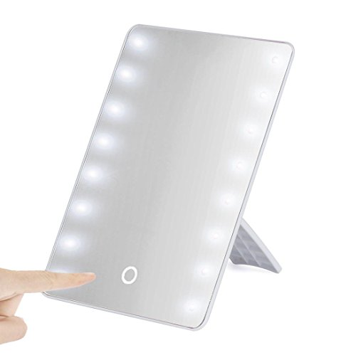 Creazy Portable 16 LEDs Lighted Touch Screen Makeup Cosme...