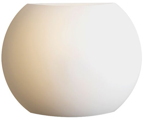 (PLC Lighting 7532 OPAL Corsica Collection 1 Light Sconce, Satin Nickel)