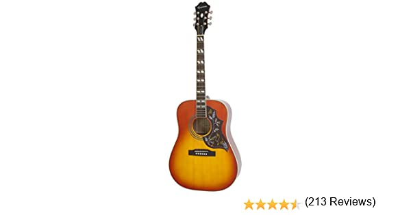 Epiphone Hummingbird PRO - Guitarras electroacústicas, color faded ...