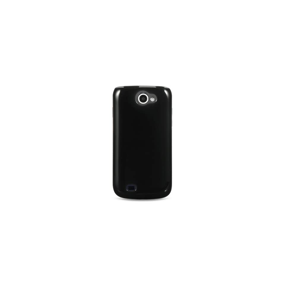 Black TPU Sleeve Gel Cover Skin Case for Samsung Exhibit 2 4G (SGH T679) T Mobile