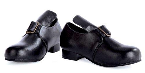 [Ellie Shoes 212560 Colonial Child Shoes - Black - Large - 2-3] (Pilgrim Costumes Ideas)