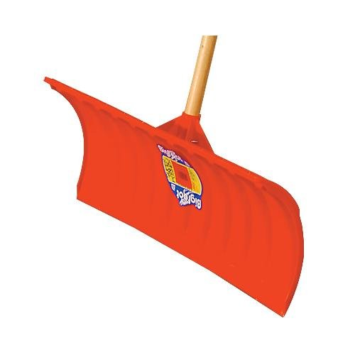 Bigfoot Poly Snow Pusher Shovel With D Grip Handle, 25 Inch Blade by Bigfoot