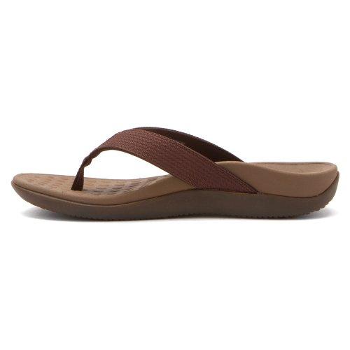 6 D onda uomo unisex US Sandalo americano punta cioccolata M M donna B 5 con a qPpRIURXw
