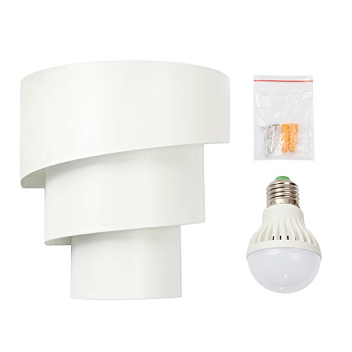 Accmart LED Wall Lights Wall Lamp LED Wall Sconce Night Light Install Anywhere Warm White for ...