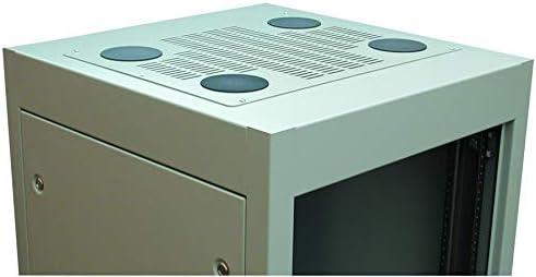 Panel Vented Hammond C2 series Cabinet Racks 23.63 inches Deep C2T1923VCEBK1 381 mm Steel C2T1923VCEBK1 C2 Top Black