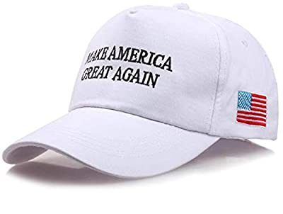 DEERMEI Make America Great Again - Donald Trump 2016 Campaign Cap Hat with US Flag from DEERMEI