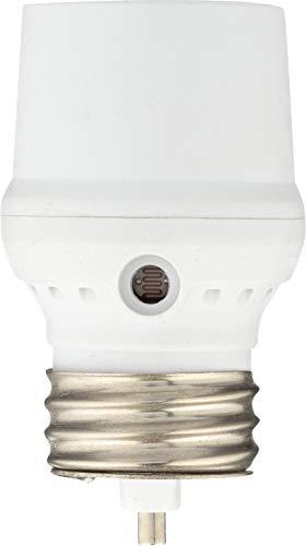 Westek SLC5BCW-4, White Dusk to Dawn Light Control, Pack of - Light Socket Sensor