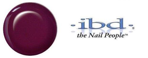 IBD Hard Gel Nail Polish, Black Diamond, 0.25 Ounce