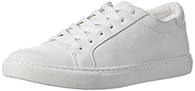 Kenneth Cole New York Women's Kam Fashion Sneaker, White, 10 M US