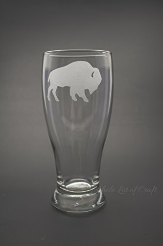 Buffalo Pilsner Beer Glass, 19 - Ounce Pilsner Beer 19