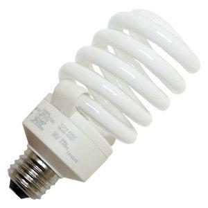 - TCP 48927SS41K 27-watt 4100-Kelvin Full Springlamp CFL Shatter Coat