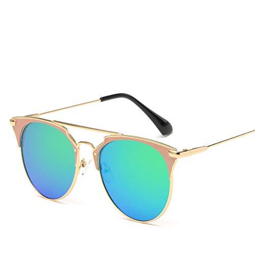 Los Polarizadas Gafas Parejas Hombres green ConduccióN Vendimia SeñOras Sol De Metal Purple BNN Las t1AYxY