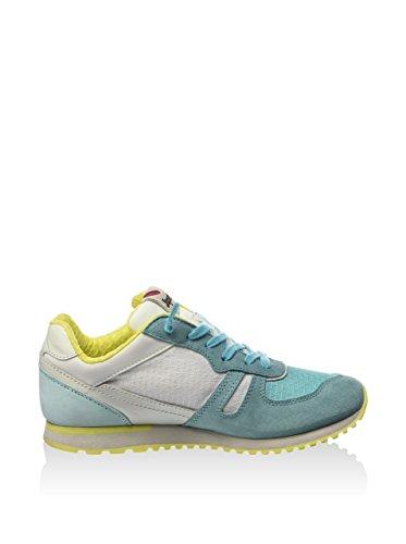 Lotto - Zapatillas de Lona para mujer Verde Agua / Amarillo