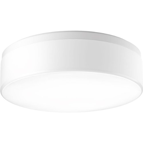 - Progress Lighting P3675-30WB 3-Light Flush Mount with White Acrylic Diffuser