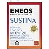 エネオス サスティナ 0W-20 SN/RC/GF-5 100%化学合成油 4L×6