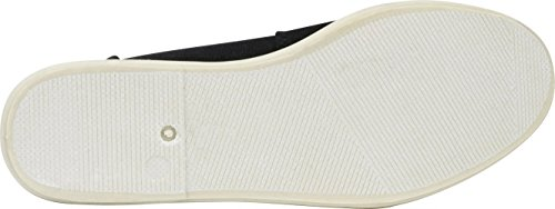 Cambridge Flat Linen Slip On Canvas White Women's Foam Memory Comfort Select Black SBrq8HS