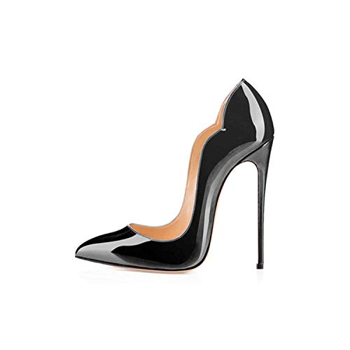 3' Platform Black Pump - Sunshine-Family Women's Wedding Shoes Heel Sexy Shoes Party,Black,7