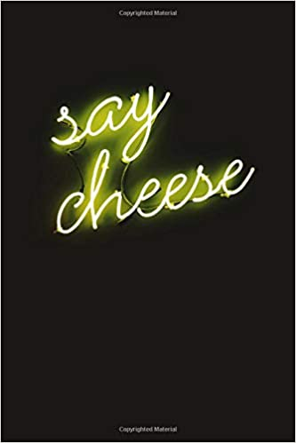 say cheese neon sign aesthetic notebook yellow therapy notes log calming psychology meditation dream journal diary van gogh tumblr composition notebook 100 sheets 200 pages designs aras 9781660127368 amazon com books say cheese neon sign aesthetic