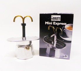 Amazon.com : Bialetti 2 Cup Mini Express Espresso Maker ...