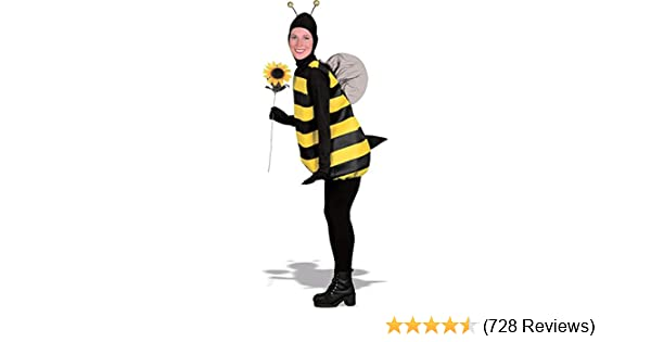025786cf1569 Amazon.com: Adult Unisex Bumble Bee Costume: Clothing