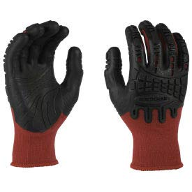 Mad Grip Thunderdome Impact Glove, Red/Black, 2XL, PPTRDBR2X, (Pack of 5) (PPTRDBR2X) by MadGrip (Image #1)