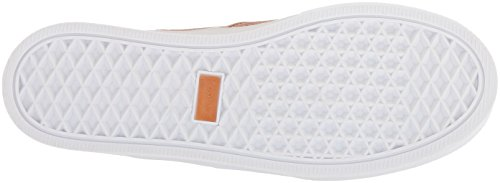 Kaanas Kvinna San Rafael Kontrast Häl Spets-up Läder Casual Mode Sneaker Ros