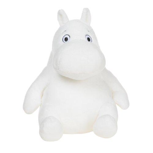 Aurora Moomin Sitting Soft Toy, White (8-inch)