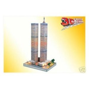 3D WORLD TRADE CENTER JIGSAW PUZZLE 3 D