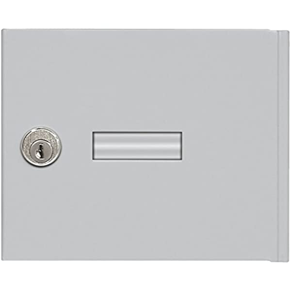 Salsbury Industries 3651alm Replacement Door And Lock Standard A Size For 4b Horizontal Mailbox With Keys Aluminum Industrial Scientific Amazon Com