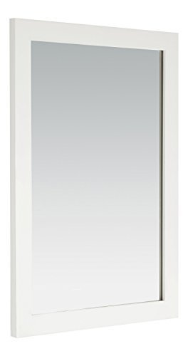 Simpli Home Cape Cod Bath Vanity Mirror, 22 x 30, Soft White by Simpli Home by Simpli Home