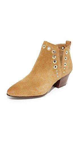Sam Edelman Women's Rubin Ankle Bootie Golden Caramel Suede