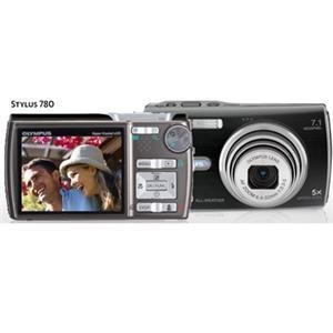 Olympus Stylus 780 7 1MP Digital Camera with Dual Image Stabilized 5x Optical Zoom (Black) by Olympus