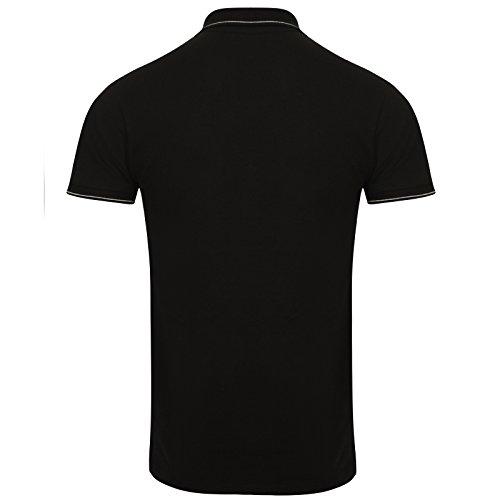 Replay Herren Poloshirt schwarz schwarz