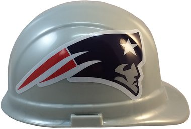 Texas American Safety Company NFL New England Patriots Hard Hats with Ratchet Suspension 2