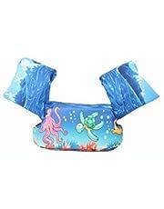 KAKAF Simvingar flytväst småbarn flythjälp 10–25 kg simbälte flytväst flyttränare med säkerhetslås för barn och småbarn 2–6 år pojkar och flickor