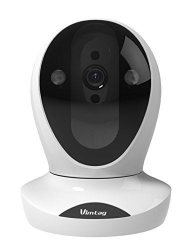 - Vimtag P1 ULTRA IP Wireless Network Security Camera, Plug/Play, Pan/Tilt with Two-Way Audio and Night Vision (Updated Version of VT-361)